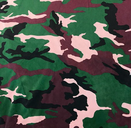 Minky - Large Camo Print (60) MIR201-95 Camo