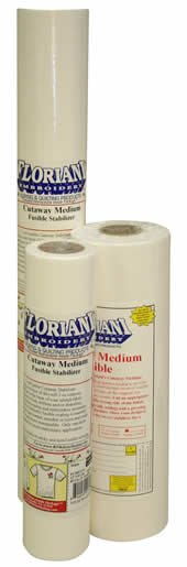 Floriani Cutaway Medium Fusible (20x10)