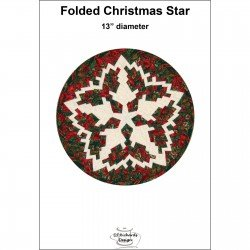 Folded Christmas Star Pattern