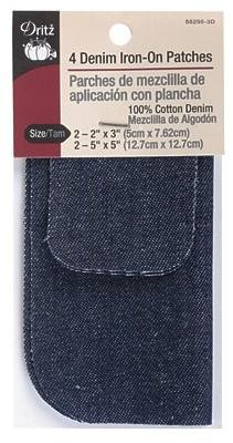 Denim Iron-On Patch Bonus Pack