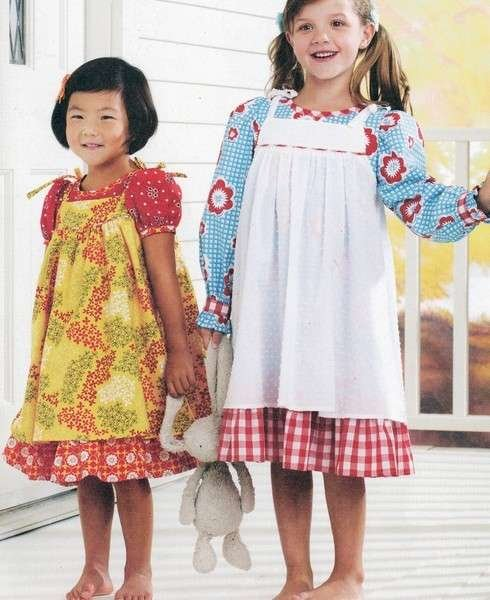 Precious Meadow Dresses Pattern K106
