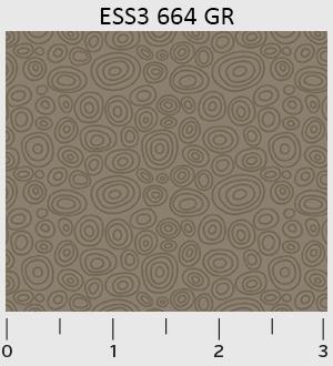 P&B - Bear Essentials 3 Ellipse Rings ESS3-664-GR