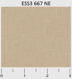 P&B - Bear Essentials 3 Dark Tan Maze ESS3-667-NE