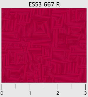 P&B - Bear Essentials 3 Dark Red Maze ESS3-667-R