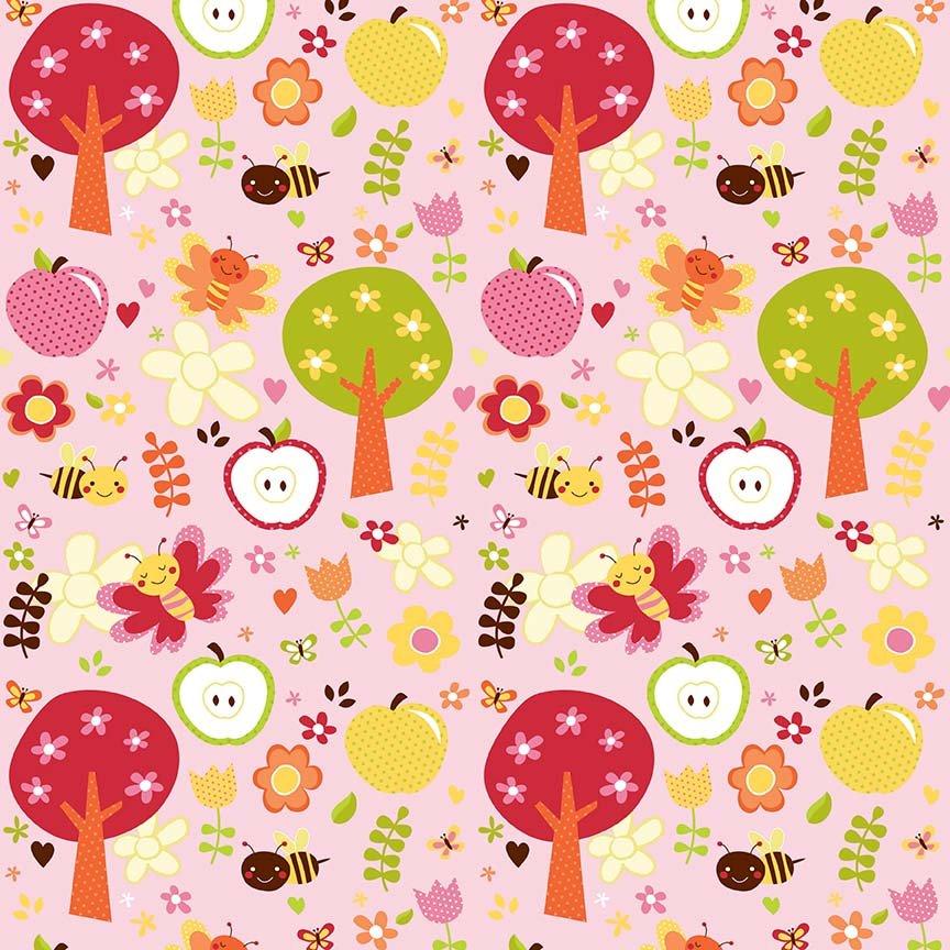 Alpine Flannels - F2111 Pink