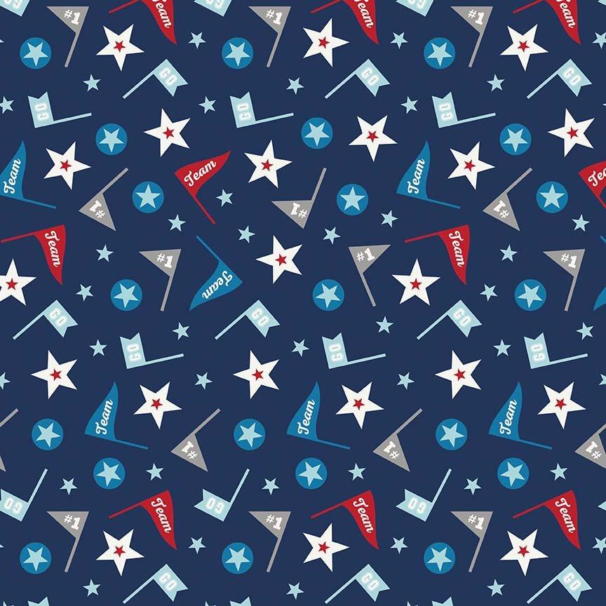 Alpine Flannels - F2118 Navy