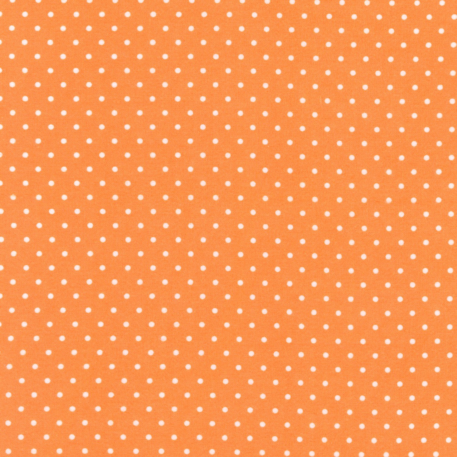 RK - Cozy Cotton FIN-9255-8 Orange Dot Flannel