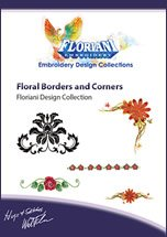 Floriani - Floral Borders and Corners CD