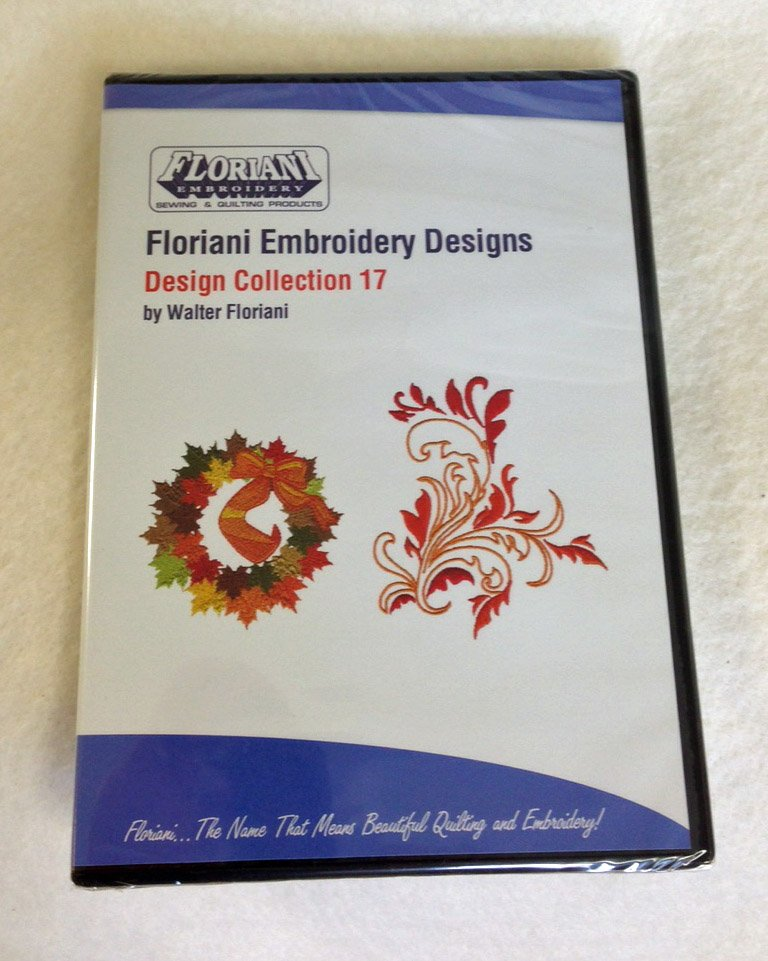 Floriani - Embroidery Design Collection 17 CD