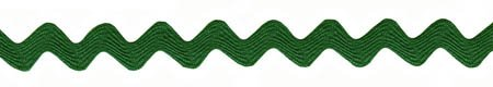 Rick Rack - Emerald 5/8