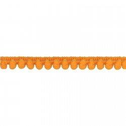 Baby Ball Pom Pom Fringe - Orange