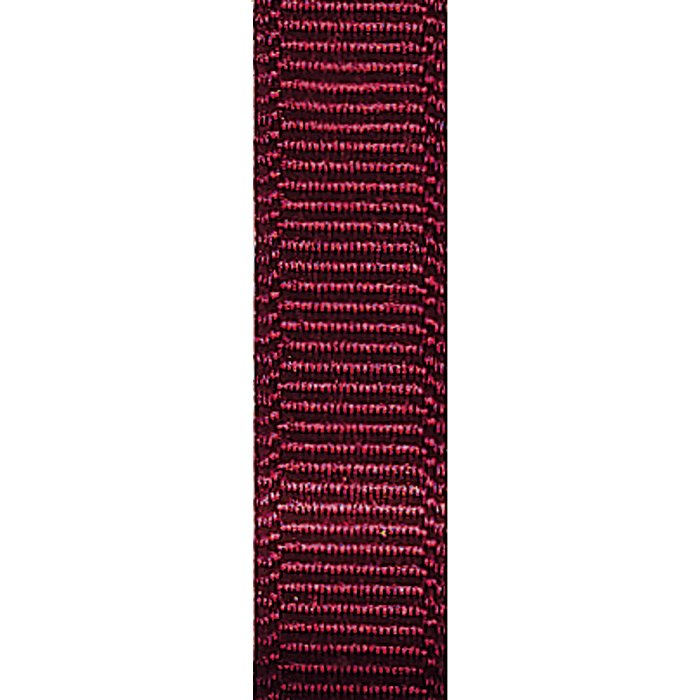 Ribbon, Grosgrain 3/8 Burgundy