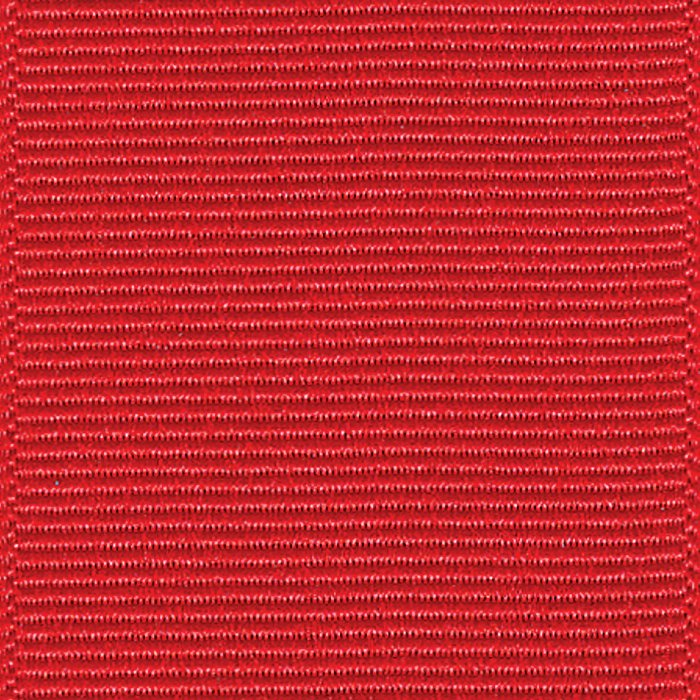 Ribbon, Grosgrain, 5/8 Red