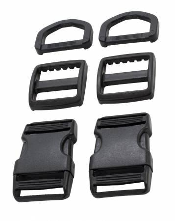 Hardware Set 1700 1in Black