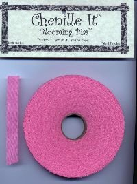 Chenille-It Blooming Bias 3/8 - Hot Pink