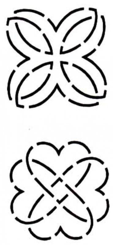 Stencil - Heart Knot