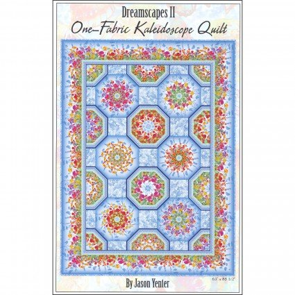 One Fabric Kaleidoscope Quilt Pattern