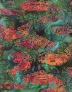 Hoffman Batik J2431-157 Verde