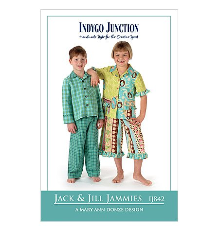 Jack & Jill Jammies Pattern