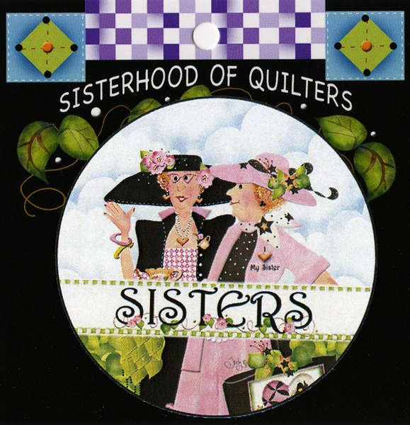 Sisters Button-Pin