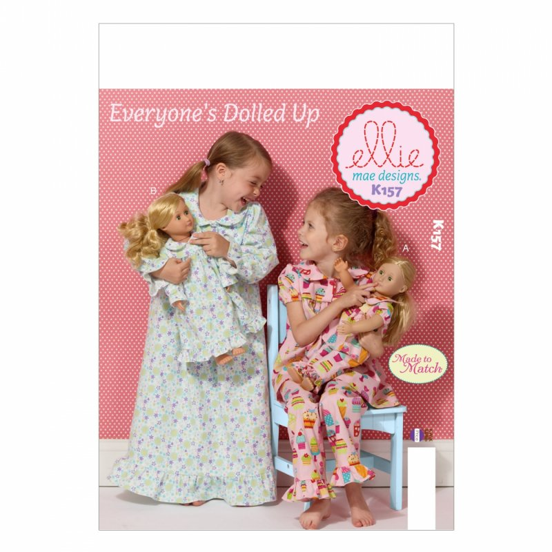 Everyone's Dolled Up Pattern K157