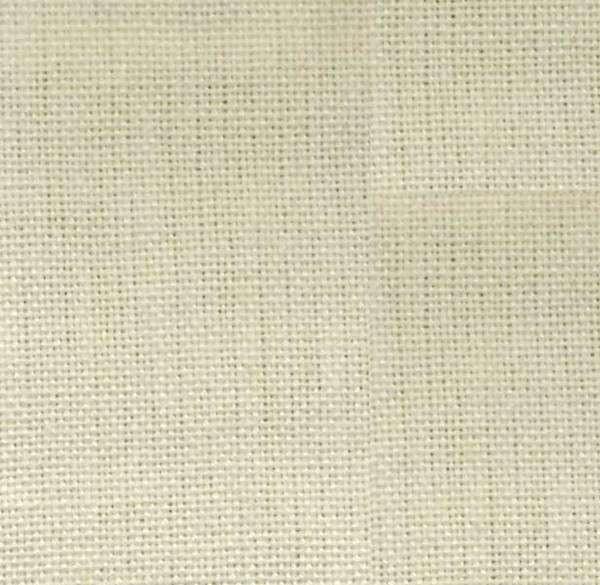 Tea Towel Dishtowel Plain Solid Cream