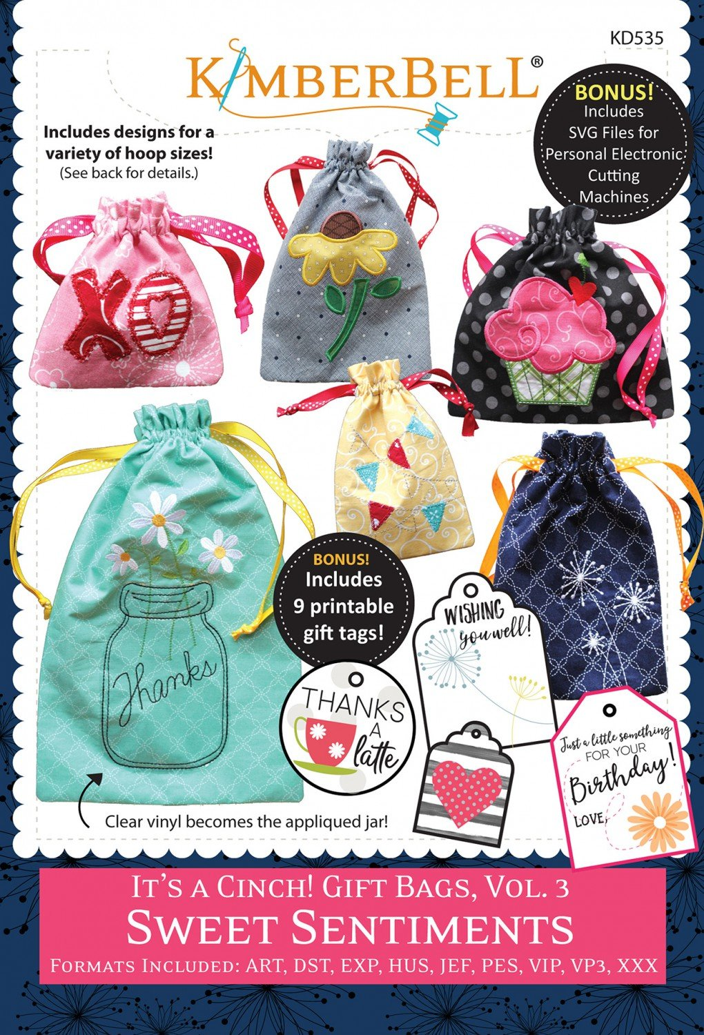 It's a Cinch Gift Bags Volume 3 Sweet Sentiments CD