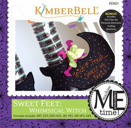 Sweet Feet: Whimsical Witch CD