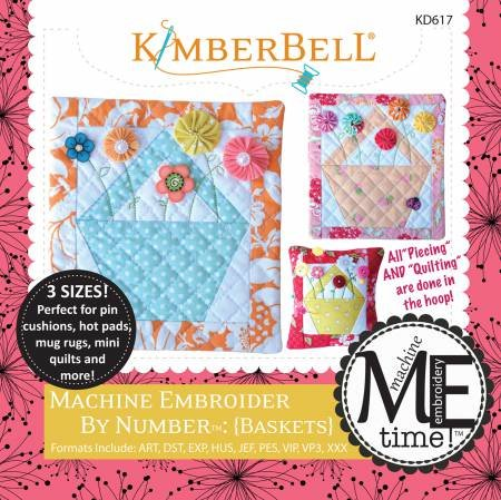 Embroider by Number: Basket (Machine Embroidery CD)