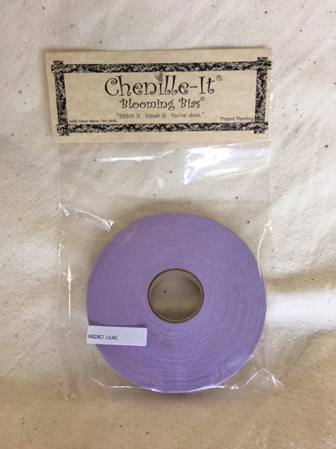 Chenille-It Blooming Bias 5/8 - Lilac