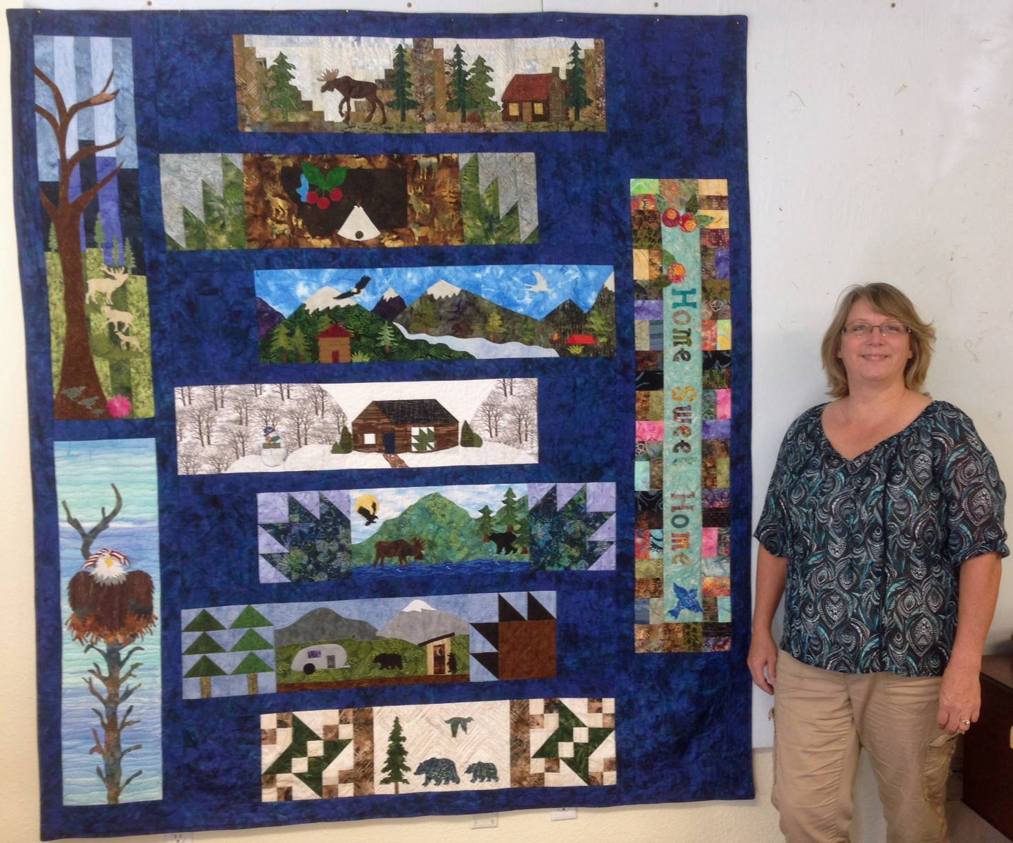 Home Sweet Home Row For Patchwork Quilts Row By Row 2016