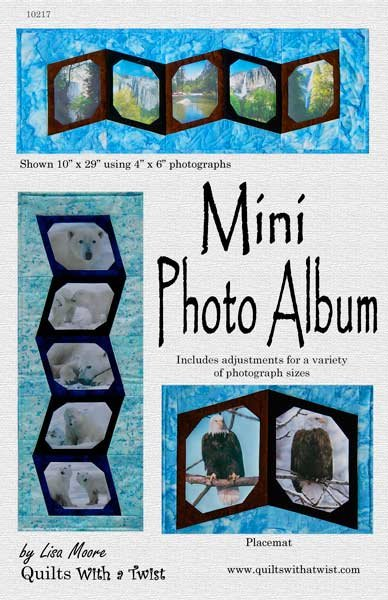 Mini Photo Album Pattern
