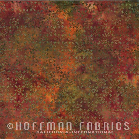Hoffman Batik  N2889-66 Autumn