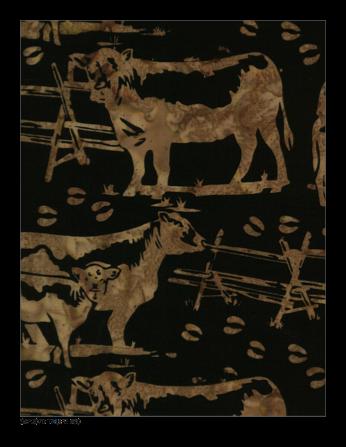 Hoffman Batik  P2078-80 Taupe