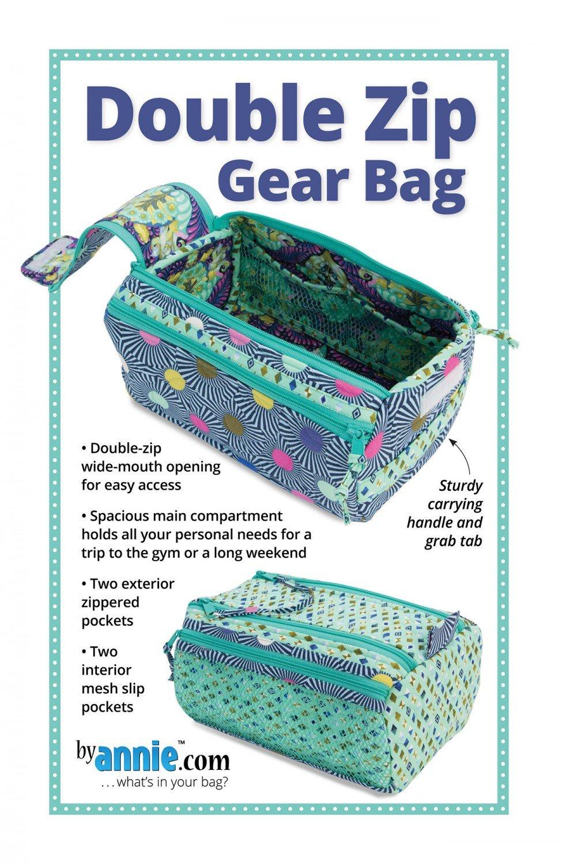 Double Zip Gear Bag Pattern