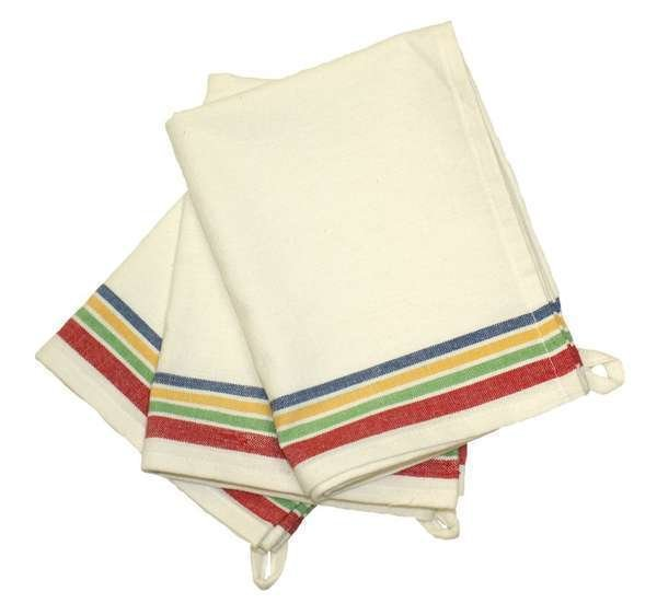 Aunt Martha's Vintage 1930 Striped Towel - Multi