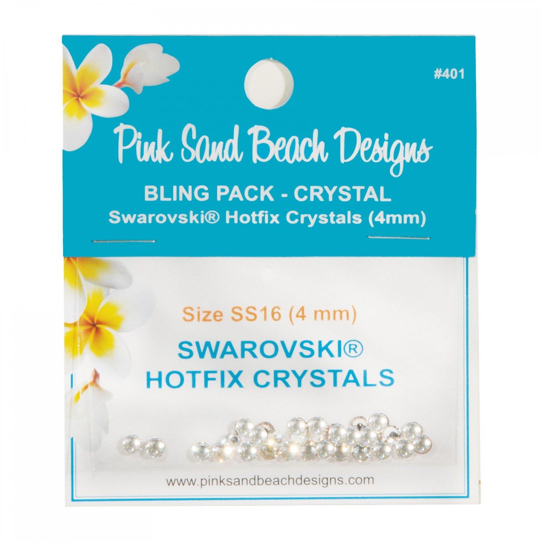 Bling Pack - Swarovski Hotfix Crystal 4mm - Crystal