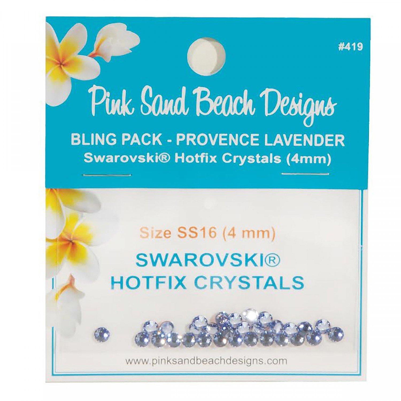 Bling Pack - Swarovski Hotfix Crystal 4mm - Provence Lavender