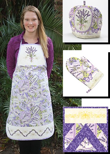 Lavender Market Hostess Set Pattern