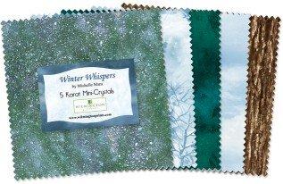 Wilmington Prints - Winter Whispers 5 Karat Mini-Crystals