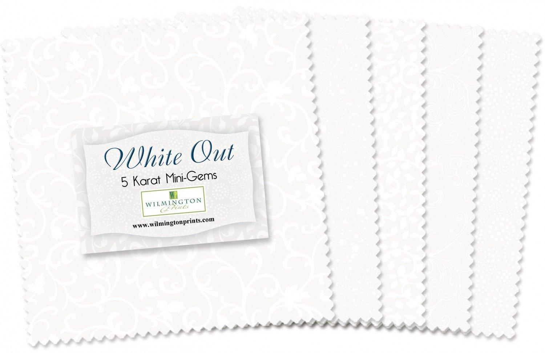 Wilmington - 5in Squares White Out 24pcs/bundle