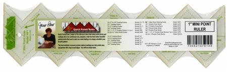 Quick Points Mini Point Binding Ruler 1in