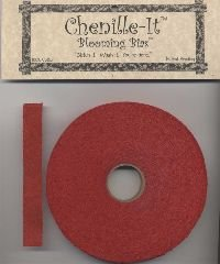 Chenille-It Blooming Bias 5/8 - Red