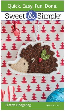 Festive Hedgehog Pattern