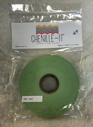 Chenille-It Blooming Bias 5/8 - Sage