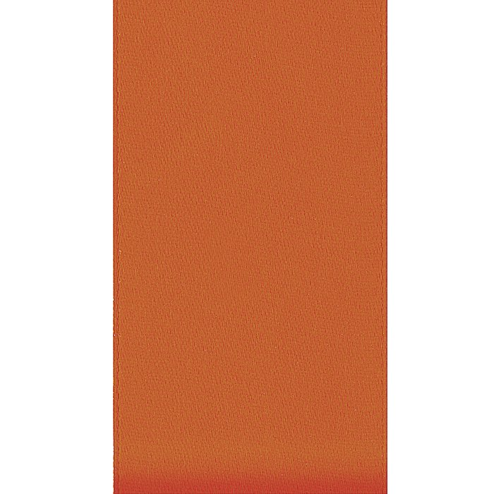 Ribbon Single Face Satin - Burnt Sienna 1/4