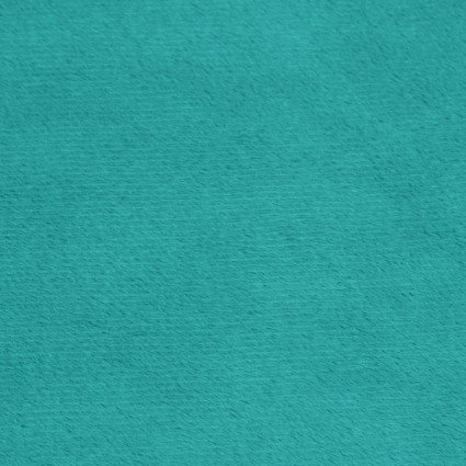 Shannon - Extra Wide Solid Cuddle 3 Minkee - Teal 88/90