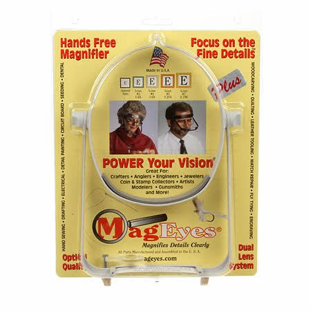 Mageye's Visor Magnifier Plus with 2 Lenses