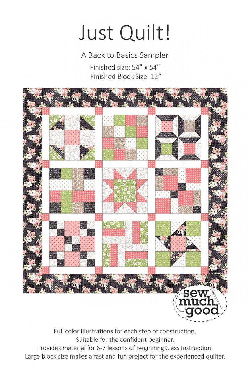 Just Quilt! Pattern