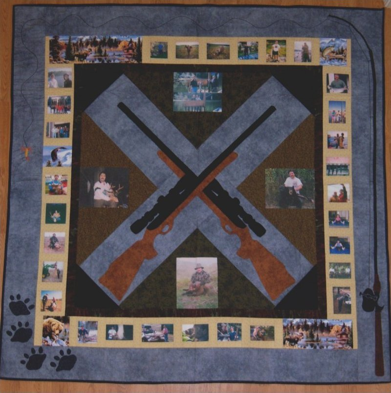 The Sportsman's Quilt Pattern